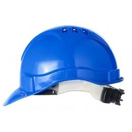 Каска защитная (с храповиком), синий