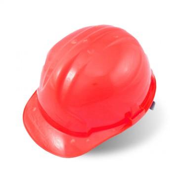 Каска защитная, красный