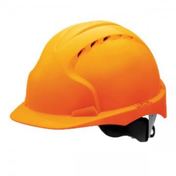 Каска защитная (с храповиком), оранжевый