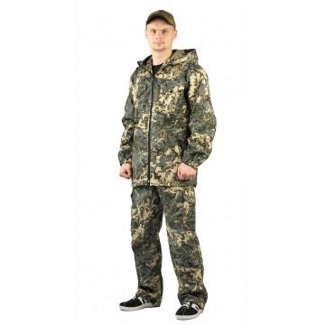 """Костюм """"ТУРИСТ 2"""" куртка/брюки цвет: кмф """"Сетка серый"""""""