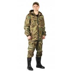 """Костюм """"ТУРИСТ 2"""" куртка/брюки цвет: кмф """"Мультикам"""""""